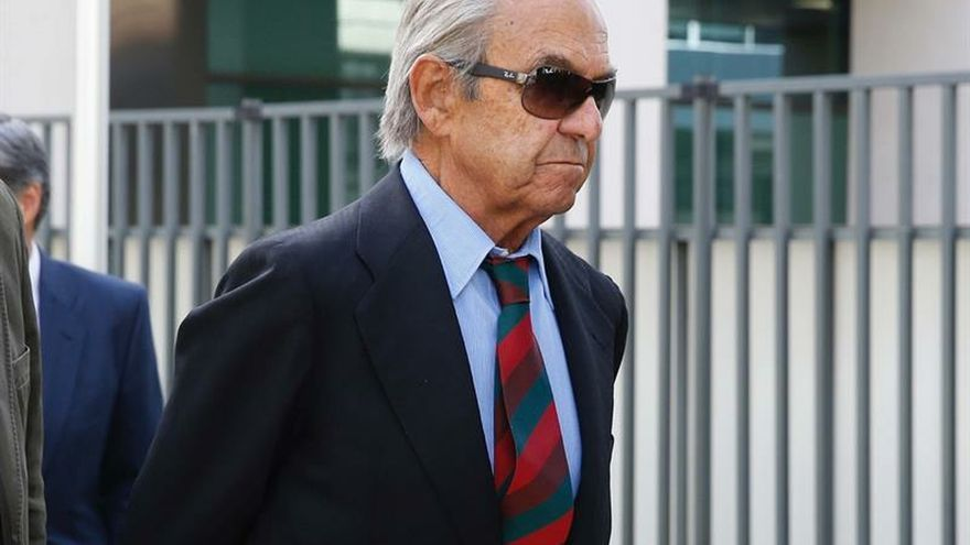 Jaime Botín se sienta en el banquillo acusado de contrabando de un Picasso