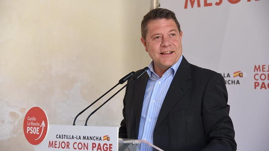 Acto público de Emiliano García-Page en Infantes FOTO: PSOE