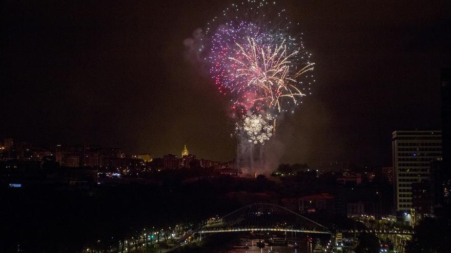 Siete compañías pirotécnicas lucharán por el premio del XXXIX Concurso de Fuegos Artificiales de Bilbao