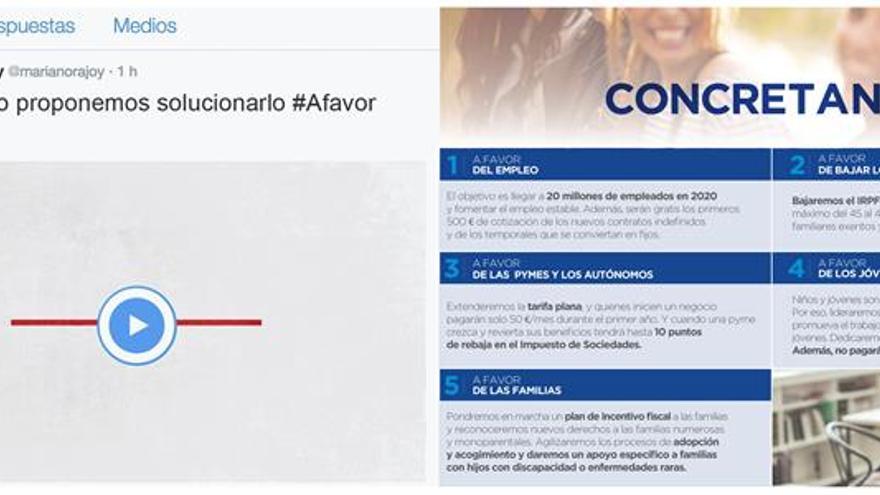 """El PP pide dejar atrás las líneas rojas y avanzar """"A favor"""" para su lema de campaña"""