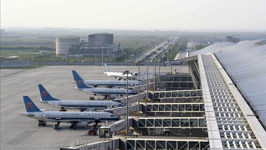 Shanghái empieza a construir mayor terminal aeroportuaria satélite del mundo