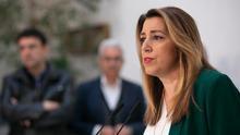 """Susana Díaz promete un traspaso de poderes """"ejemplar"""" para un Gobierno """"legítimo"""" pero que """"no merece Andalucía"""""""