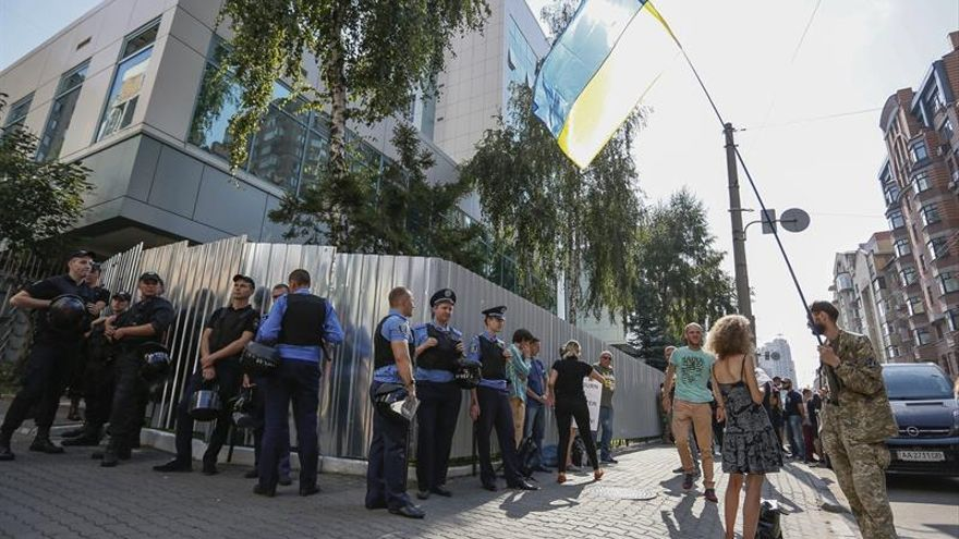 """La FIP condena el ataque en Kiev a la televisión prorrusa """"Inter"""""""
