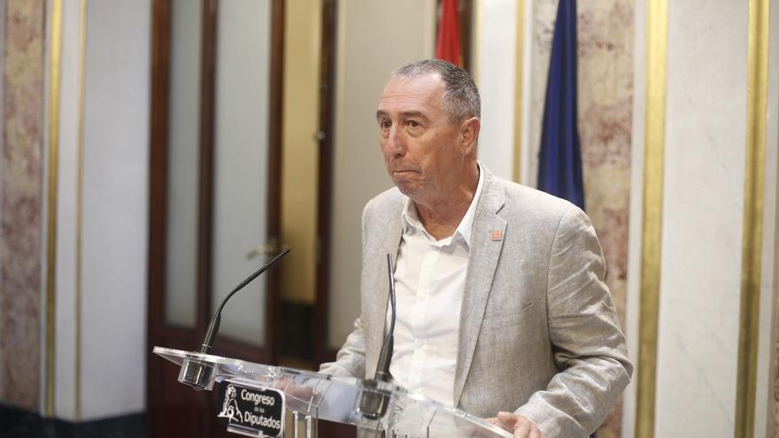 """Baldoví critica la """"parafernalia"""" del PSOE y vería lógico que Podemos pueda apoyarle y pasar a la oposición"""