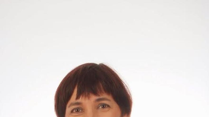 Ana León, candidata de IUC al Parlamento de Canarias por La Palma.