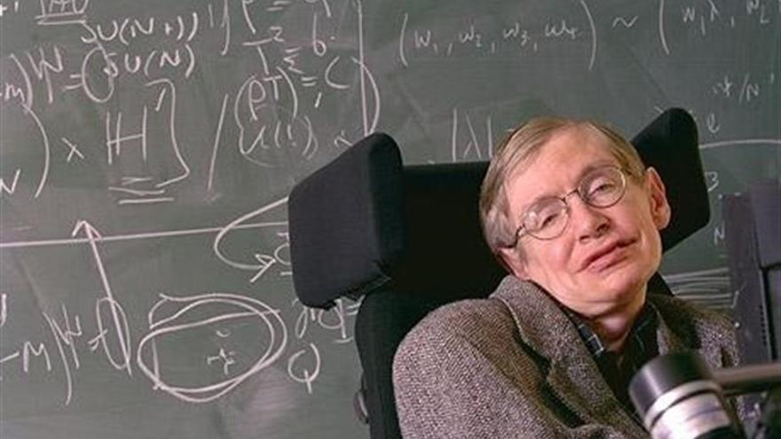 Imagen de archivo del científico británico Stephen Hawking