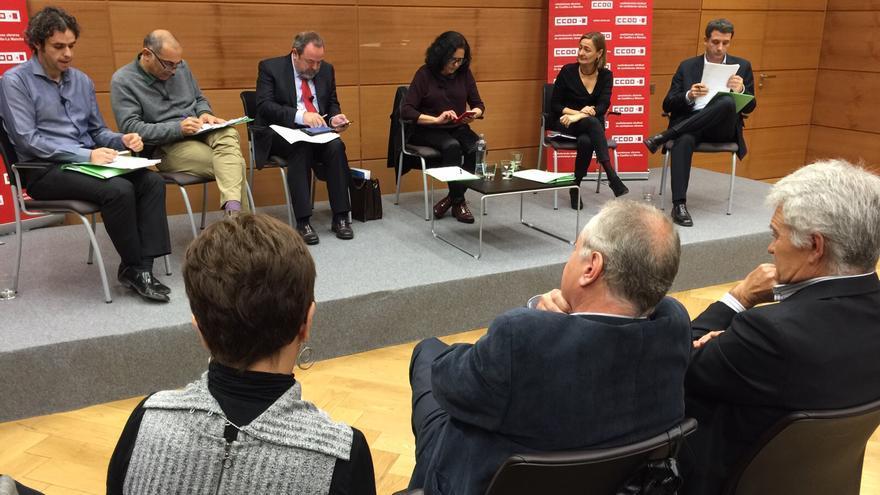 Debate político a cinco bandas en Toledo / CCOO