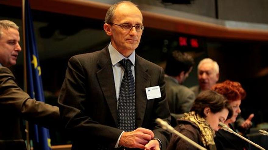 El presidente del Consejo de Supervisión del Banco Central Europeo (BCE), Andrea Enria.