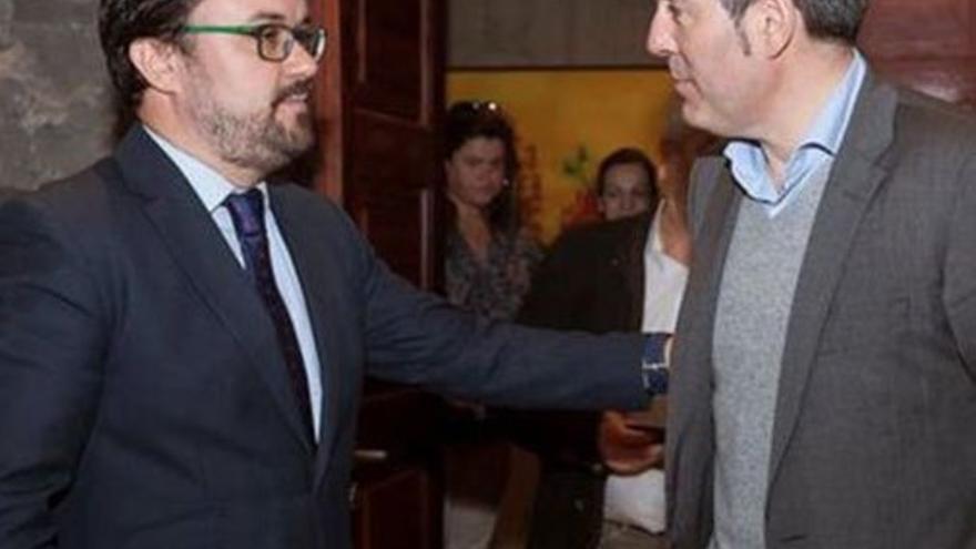 Asier Antona y Fernando Clavijo. (CA)