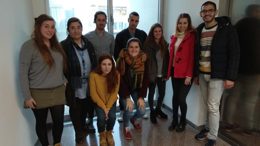 Estudiantes de Ingeniería Biomédica de la UPC