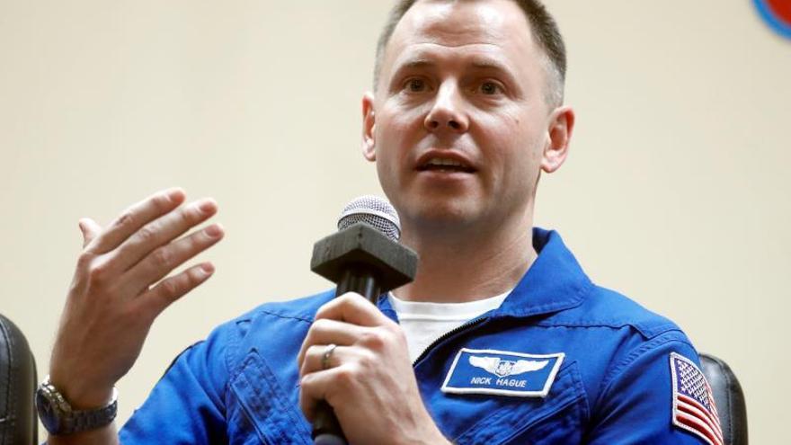 Putin concede la Orden de la Valentía al astronauta de la NASA Nick Hague