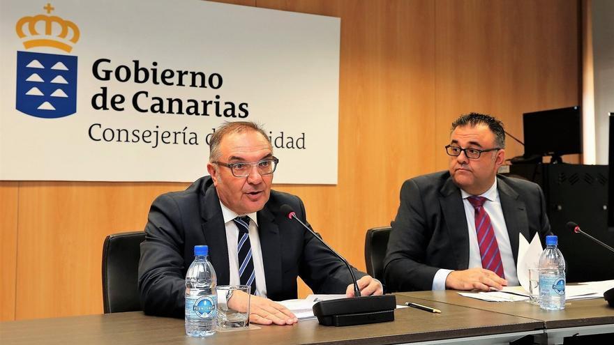 José Manuel Baltar, consejero de Sanidad del Gobierno de Canarias