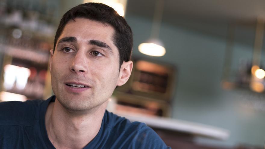 Alejandro Marín, creador de Forocoches, durante la entrevista con eldiario.es
