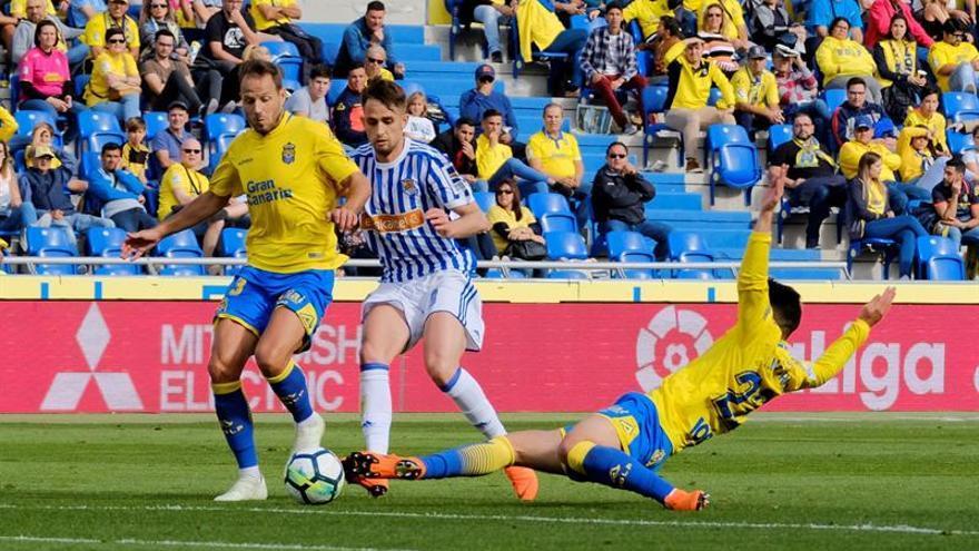 La Real afila la guillotina de Las Palmas (0-1)