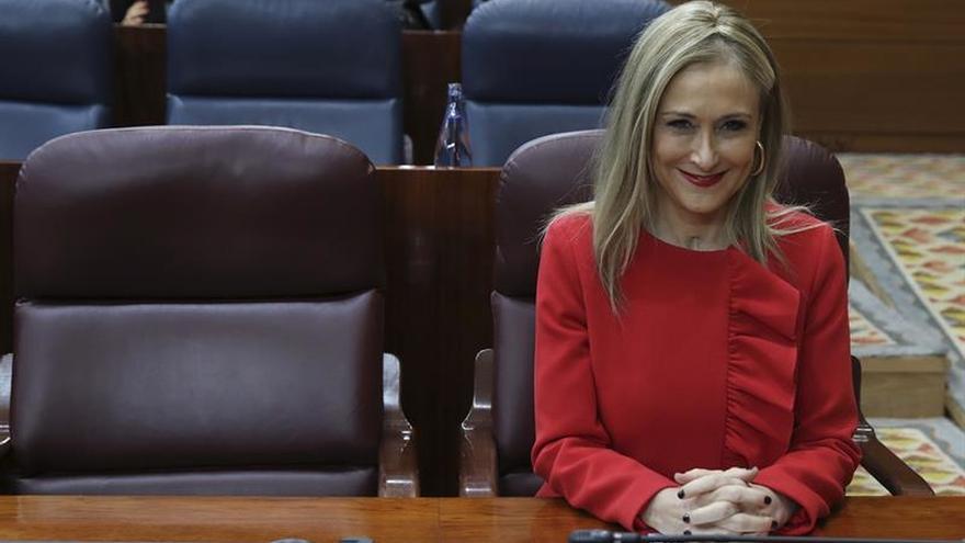 La presidenta de la Comunidad de Madrid, Cristina Cifuentes, en una imagen de archivo.