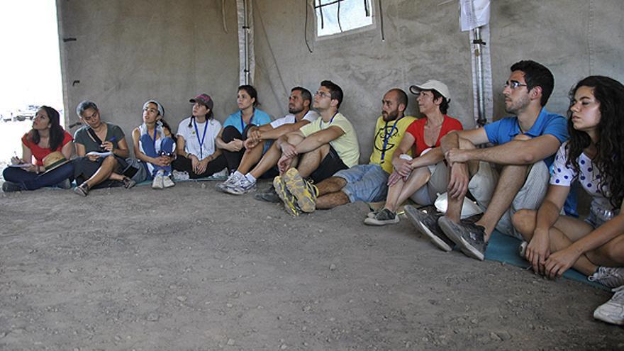 Del 'simulacro' de campamento #2