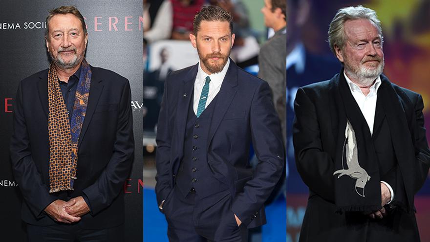 Steven Knight, Tom Hardy y Ridley Scott