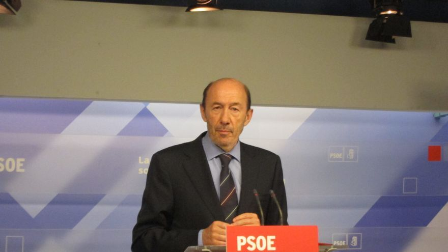 Rubalcaba, elegido vicepresidente de la Internacional Socialista
