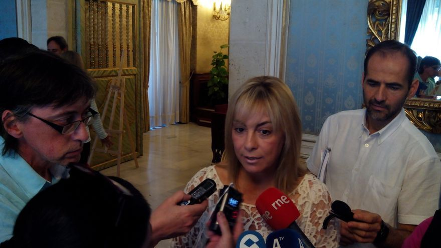 """PP vasco: Sonia Castedo """"no es digna"""" del cargo y """"tenía que estar ya en la calle"""" y """"no militar en el PP"""""""