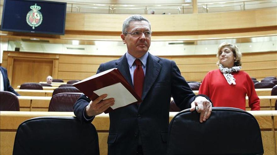 Gallardón ratifica que la reforma del aborto se aprobará antes de fin de año