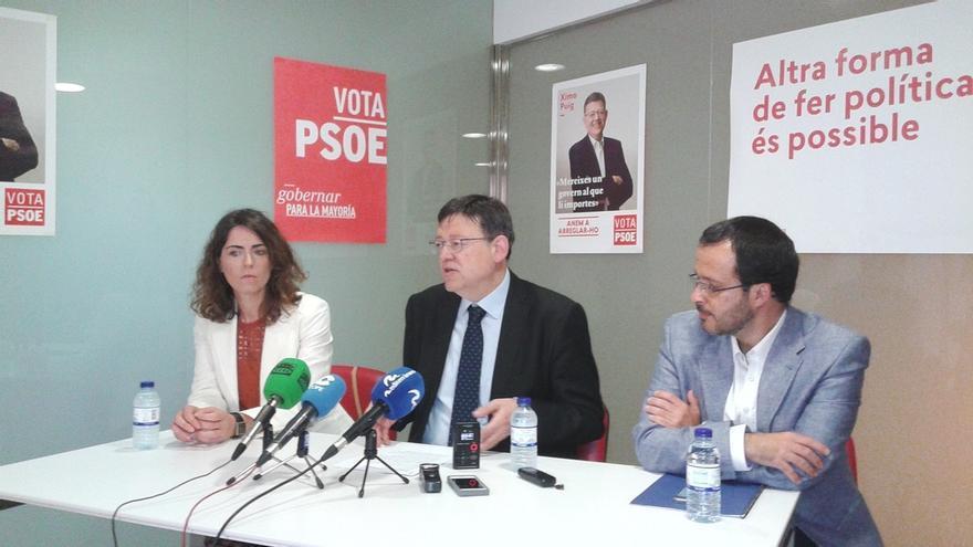 """Puig (PSPV) dice que el PSOE es """"izquierda moderada"""" y """"si se radicaliza pierde"""""""