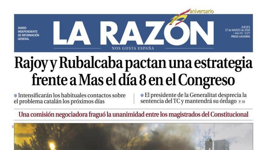 Recorte La Razón