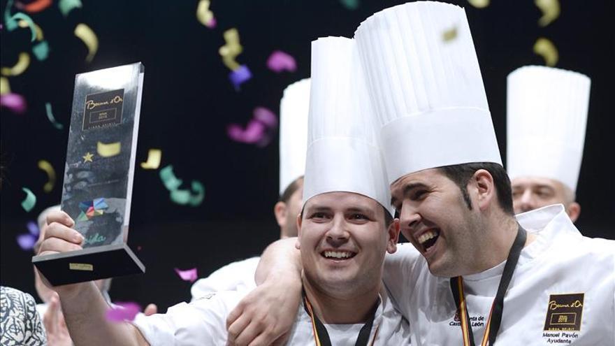El cocinero extremeño Juan Manuel Salgado gana el Bocuse d'Or España
