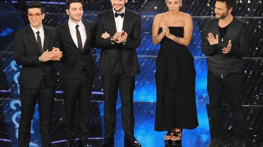 El trío de pop lírico Il volo gana el festival de San Remo