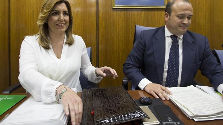 """Susana Díaz: """"Me he casado con un tieso, pues sí"""""""