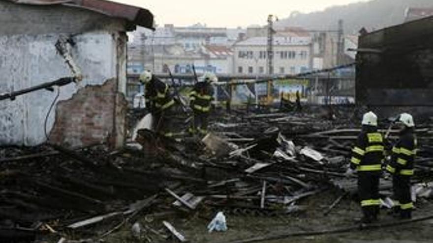 Nueve muertos en un incendio en Praga