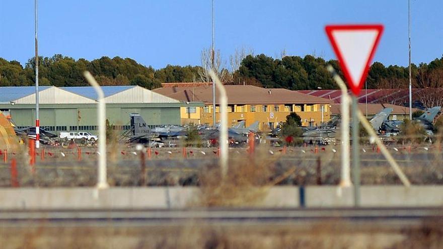 Se estrella un avión cerca de la Base Aérea de Albacete