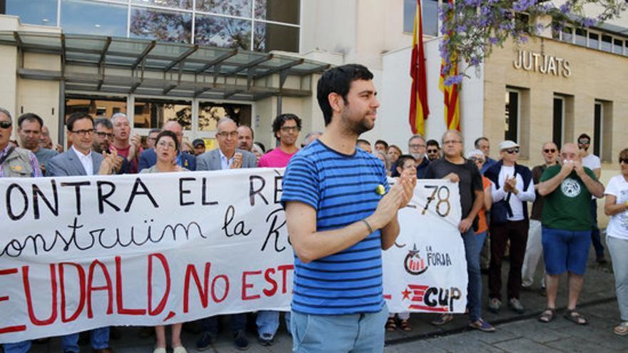 Eudald Calvo, alcalde de Argentona, en una imagen del pasado junio.