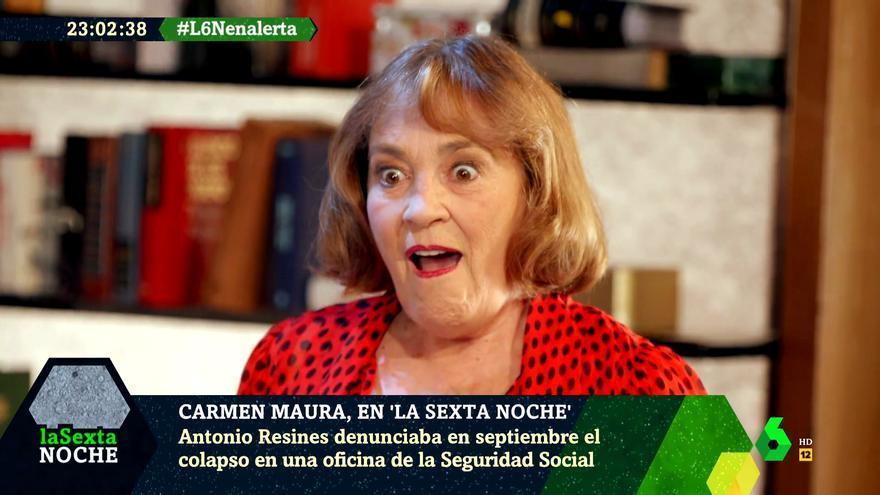 Carmen Maura en 'laSexta Noche'
