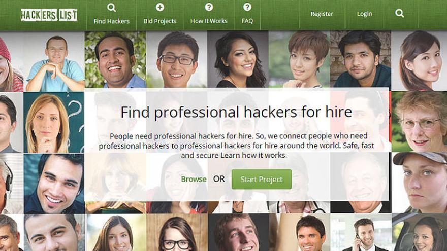 En esta web puedes encontrar un 'hacker' que cometa ciberdelitos para ti