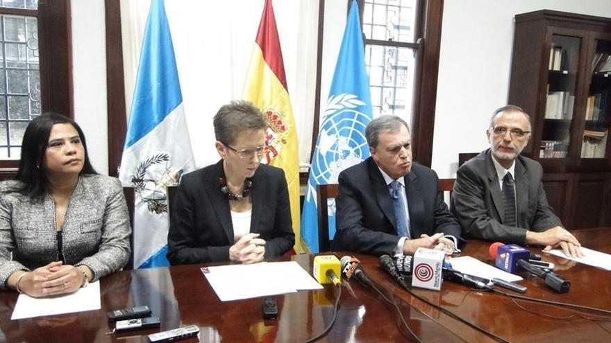España dona 164.000 dólares a la Comisión contra la Impunidad de Guatemala