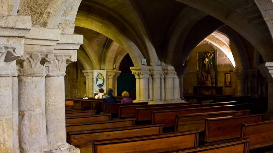 Cripta de la Catedral de Santander.