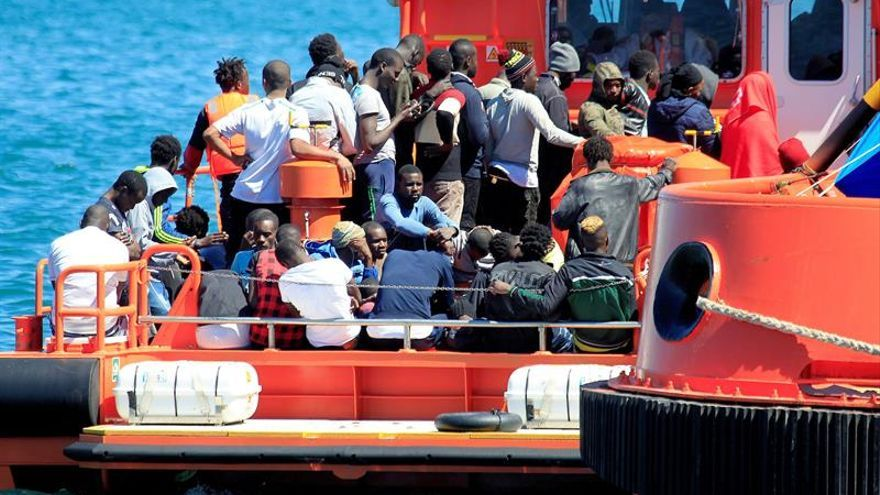 España pide a la CE más ayuda ante la llegada de migrantes