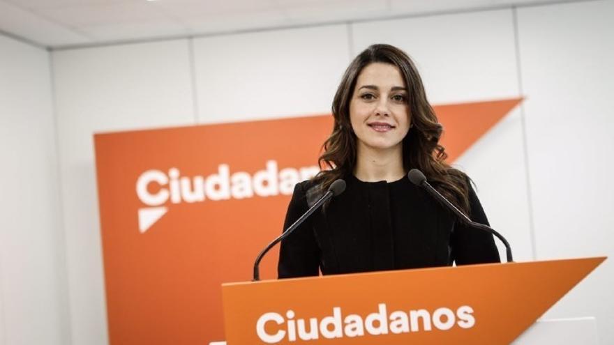 """Arrimadas: """"El PSOE ha mostrado sus luchas personales pero no qué proyecto de país ofrece"""""""