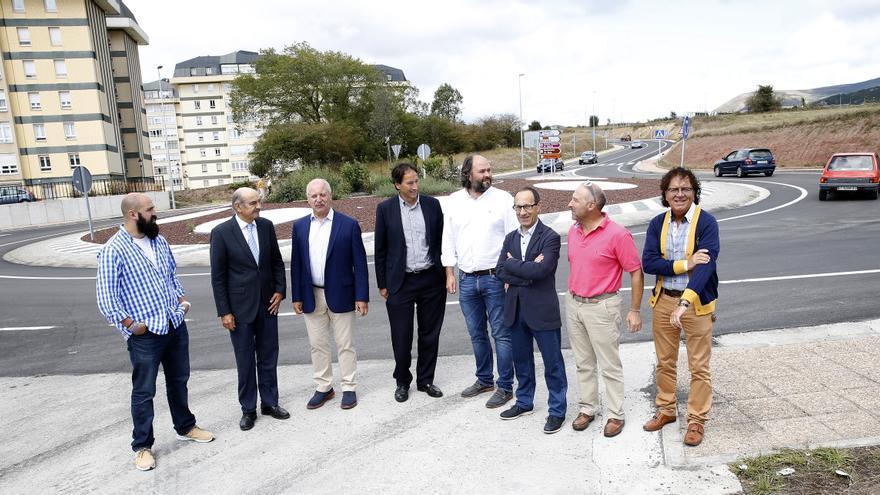 Mazón inaugura la mejora de la variante de Reinosa por importe de 1,13 millones