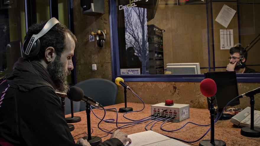 Las instalaciones de la radio 'Onda Polígono'