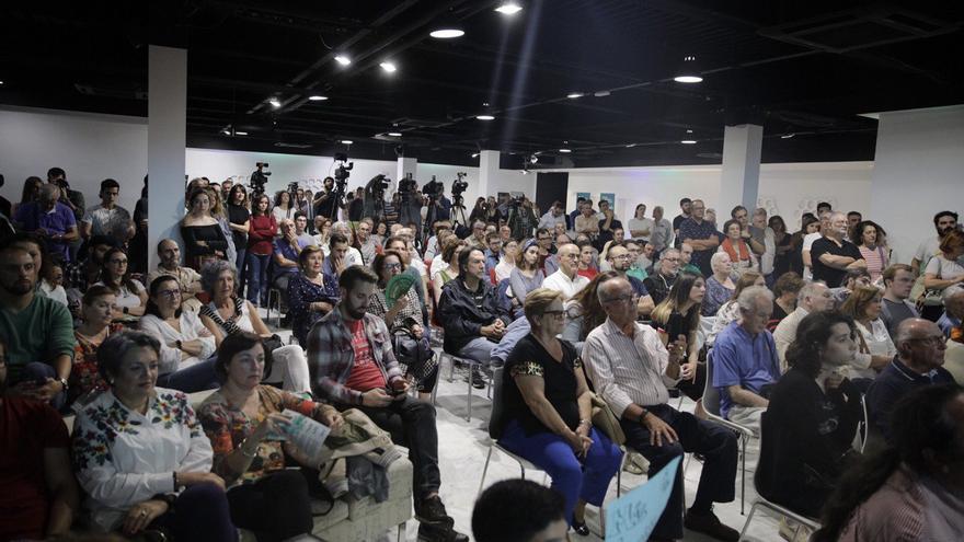 Primer acto de campaña de Más País en Sevilla.