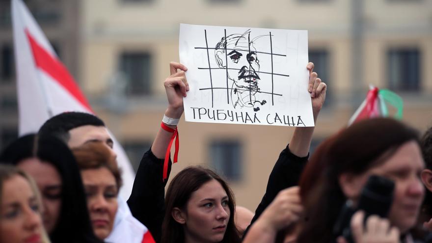 Los bielorrusos vuelven a las calles para exigir la renuncia de Lukashenko