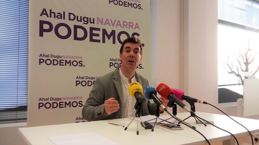 """Podemos acusa a EH Bildu de """"priorizar sus intereses frente a la estabilidad del Gobierno de cambio"""""""