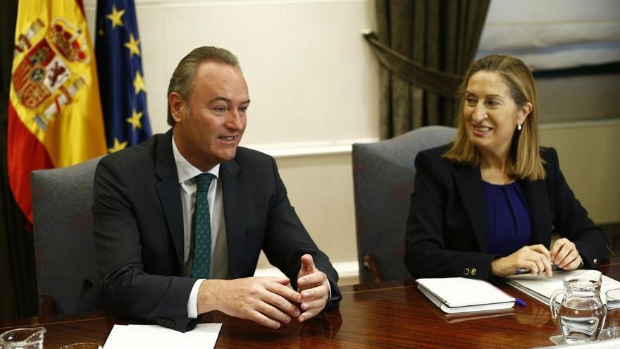 Alberto Fabra asegura que Alicante, Valencia y Castellón estarán conectadas por alta velocidad en el año 2015