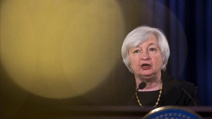 La presidenta de la Reserva Federal (Fed) de EE.UU., Janet Yellen.