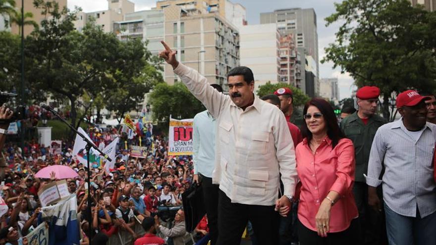 """Presidente de Venezuela dice que en España 'hace falta un Maduro"""""""