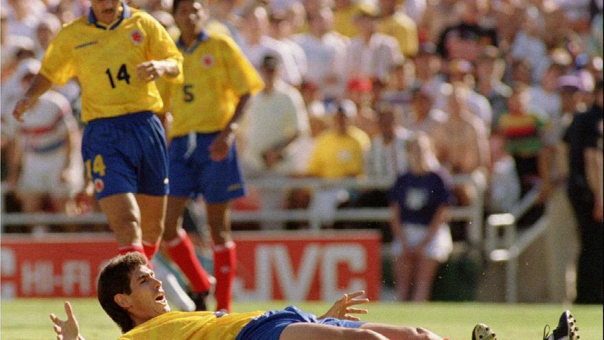 El autogol que eliminó a Colombia del Mundial de 1994