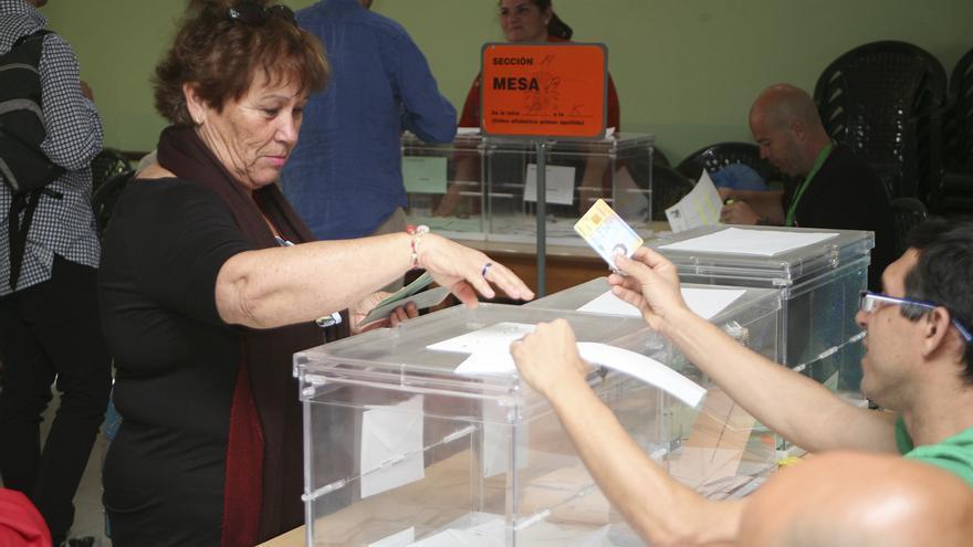 Jornada electoral en Agümes