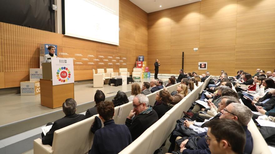 """Chivite destaca que """"el desarrollo sostenible no es una elección, sino una obligación de urgencia"""""""