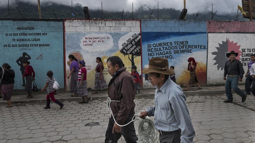 La presencia de Ecoener Hidralia en el municipio ha aumentado la conflictividad social entre las comunidades/Imagen: Pedro Armestre-Alianza por la Solidaridad